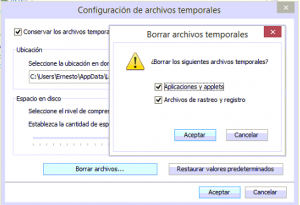 Paso2-Borramos los archivos temporales de internet