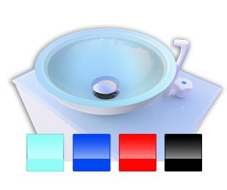 Lavabo port til de cristal equipo psicot cnico - Lavabo portatil ...